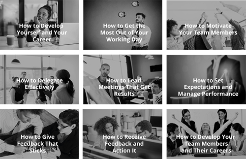 The Manager's Toolkit Topics